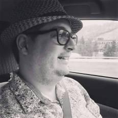 Jean-Francois Goulet, homme au chapeau