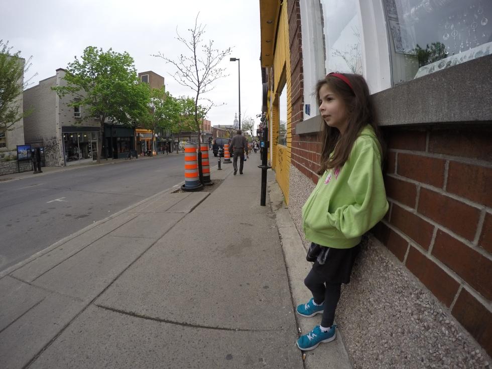 princesse asperger dans la ville