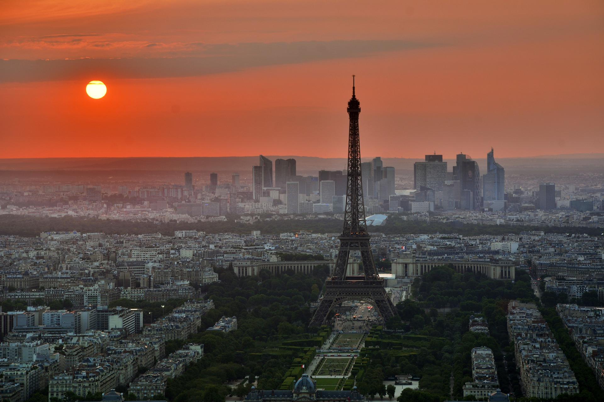 Paris Couché de soleil
